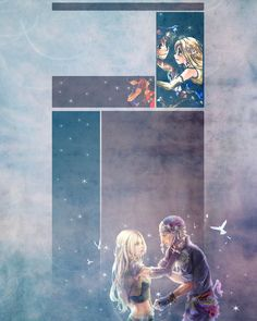 This is a really cute couple from the older final fantasy 6 i do not own images but i hope u guys like it! Locke and Celes YT BG Final Fantasy Iv, Final Fantasy Characters, Fantasy Series, Fantasy Art, Kingdom Hearts Ii, Dragon Age, Character Art, Anime Art, Video Games