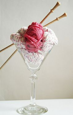 yarn cocktail by http://wildcat-designs.co.uk