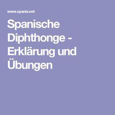 spanische diphthonge erklrung und bungen - Bildbeschreibung Spanisch Beispiel