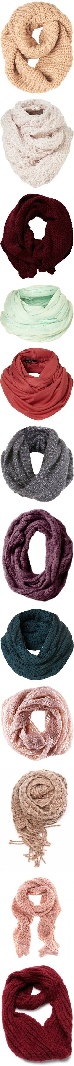 infinity scarves: every color