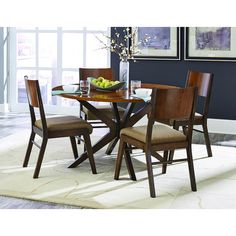Home Elegance Bhaer Collection Round Dining Table 5414