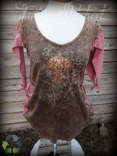 Hey, I found this really awesome Etsy listing at https://www.etsy.com/listing/196757396/refashioned-womens-shirt-medium-large