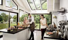 Aménager une cuisine dans une véranda  ©Vie et Véranda