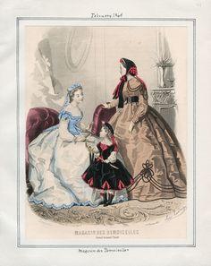 Magasin des Demoiselles February 1865 LAPL
