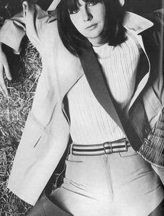 Chrissie Shrimpton for Vogue (Image by David Bailey) Chrissie Shrimpton, Jean Shrimpton, Retro Fashion, Vintage Fashion, David Bailey, Vintage Swim, Fashion Catalogue, Vintage Hairstyles, Vintage Shoes