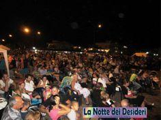 La Notte dei Desideri - 4a Edizione 10 Agosto 2012, Sellia Marina (CZ), Piazza a Mare