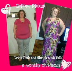 Tara says~ This is 6 months on the Plexus products. I have lost 32 lbs. and not sure inches as need to measure this week but as you can see a TON!!! I went from a starting size 24/26 (more 26) to a size 18/20 (more 18:) and wearing a 3XL top to a XL. I would send my kiddos of to school be back to bed by 9 and up at 3 to get kids and back in bed by 9 I am proud to say I no longer nap when they are gone my chronic fatigue. I now spend my days with my family or working my Plexus business, yes I…