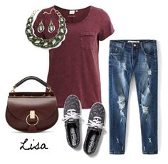 """Friday"" by coolmommy44 ❤ liked on Polyvore featuring Object Collectors Item, Keds and Chloé"