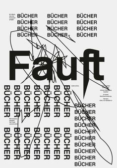 Thomas Maier - Poster from a workshop with Swiss graphic designer Ludovic Balland. Typo Design, Graphic Design Typography, Graphic Design Art, Graphic Design Illustration, Print Design, Ludovic Balland, Type Posters, Typographic Poster, Visual Communication