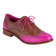 Skylar Oxford. I saw a girl on the train with shoes like these, except instead of pink, it was purple & turquoise.