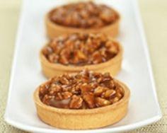 Tartelettes aux noix et au caramel