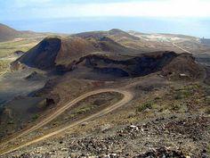 Malpais en el interior de la Isleta en Las Palmas de Gran Canaria