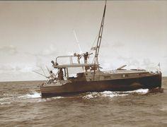 Hemingway's PILAR. Circa 1935