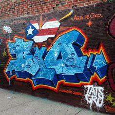 #bio #tatscru #bushwick #graffiti