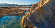 10 Unique Hot Springs in the United States to Relax In | Travel + Leisure Cool Places To Visit, Places To Travel, Travel Stuff, Travel Destinations, Yellowstone National Park, National Parks, Yellowstone Hot Springs, Truth Or Consequences, By Any Means Necessary