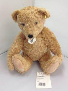 f810f1baab Steiff Bear Elmar Teddy Bear Golden Brown 022456