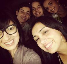 Fernanda, Eyshila, Matheus, Lucas e Liz Lanne