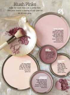 Color Personality: Powder Pinks