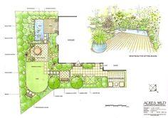 garden design hydrangea - Google zoeken