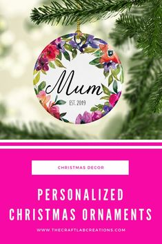 Personalized Christmas ornament for grandmother will be the perfect gift this Christmas season. We all have special names for our grandparents why not gift them such an ornament to express your love for them. Christmas Food Gifts, Christmas Tree Decorations, Christmas Tree Ornaments, Personalized Family Gifts, Personalized Christmas Ornaments, Winter Wonderland Decorations, Minimalist Christmas, Christmas Inspiration, Grandparents