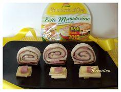 """""""Camosciamo"""" con un tramezzino arrotolato #ricette #receipe #food #deliciousfood #camosciodoro #camosciare #piccolipiaceri #fettemorbidissime grazie a @Rosa Hans Forino"""