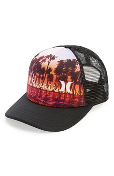 Hurley  Destination  Trucker Hat Hurley Hats 9f64e105ce2