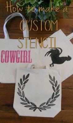 How to make a custom stencil
