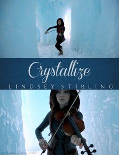 Crystallize by Lindsey Stirling - this was the last song she played at her concert and it was amazing!