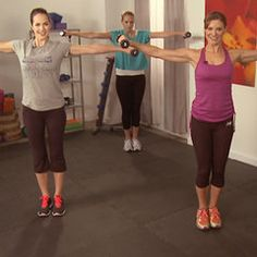 Total-Body, 10-Minute Workout Video With Holly Perkins
