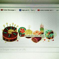 Muuuuy buenos días!!! Hoy hace 1 año que emprendimos con nuestro negocio online y google nos felicita!! Que sorpresa!! Jajajjaa! Que tengas un feliz viernes #davidymiriam #negocioonline #construyeelmejorañodetuvida #conecta2enlared