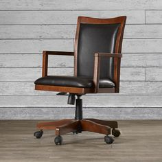 FREE SHIPPING! Shop Wayfair.ca for Loon Peak Flagstaff High-Back Executive Office Chair with Arms - Great Deals on all  products with the best selection to choose from!