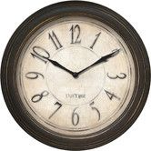 "Found it at Wayfair - 9.75"" Distressed Wall Clock"