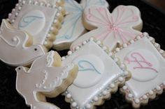 Christening Cookies Baptism Cookies Custom by 4theloveofcookies