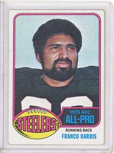 1976 Topps 100 Franco Harris Pittsburgh Steelers HOF EX Immaculate Reception | eBay