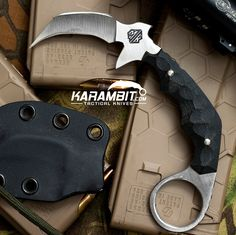 BRAND NEW!! The McDaniel Knives DEVIANT Karambit! In stock now on Karambit.com!