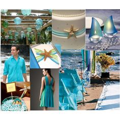 Destination Wedding Inspired Sea Glass