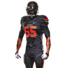Oklahoma State Football #Nike