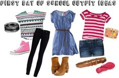 """First Day of School Outfit Ideas"" by kalim97 ❤ liked on Polyvore"