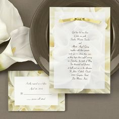 Yellow and Grey Wedding ideas - Buttersoft Bouquet (Invitation Link - http://www.occasionsinprint.com/pinterest-board---yellow--grey-wedding-invitations.html)