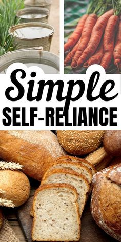 Simple Self-Reliant Living - Self reliance: Relying on yourself for many of your needs, rather than depending on corporations. Looking for simple living ideas to embrace? Homestead Survival, Survival Prepping, Survival Skills, Survival Shelter, Wilderness Survival, Survival Gear, Survival Hacks, Survival Knife, Self Sustaining