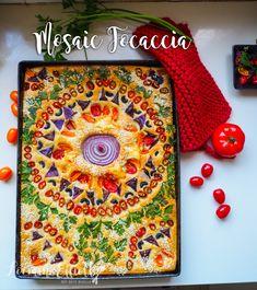 Focaccia Bread Art @ Not Quite Nigella Nigella, Bread Recipes, Cooking Recipes, Scd Recipes, Cooking Tips, Pretzel Roll Recipe, Bread Art, How To Make Sandwich, Snacks Für Party