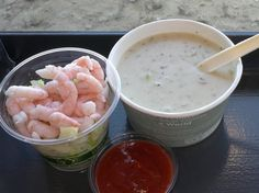 Cliff House Clam Chowder from Lands End Lookout  #examinercom