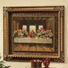 The Last Supper Wall Art the last supper wall frieze. $69.95 | wall decor | pinterest