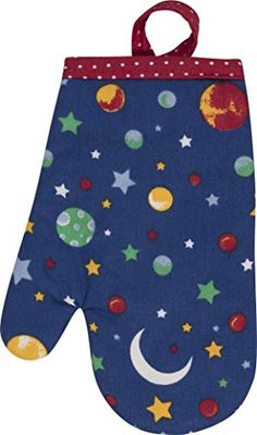 Handstand Kitchen Childs Stars and Planets Oven Mitt -- Find out more about the great product at the image link. Baking Supply Store, Kids Cookbook, Little Chef, Baking With Kids, Baking Supplies, Handstand, S Star, Kids House, Cool Kids