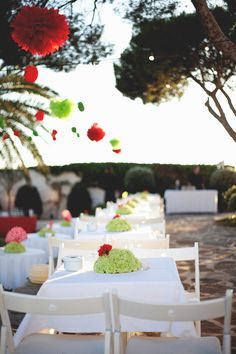 Red is the colour #laiasegui #weddings #bodas #menorca #events