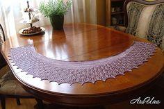 Ravelry: Feathers fichu pattern by Elena ArsUna