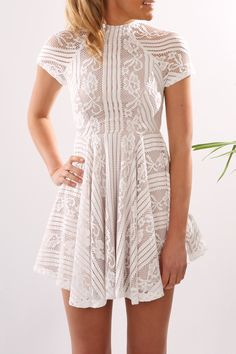 Check out this product from Jean Jail: Unassigned: Zali Lace Dress White
