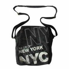 Robin-Ruth NYC Charcoal Messenger Bag