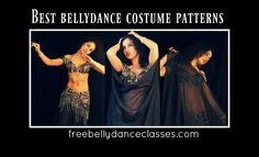 Free belly dance classes: The best belly dance costume patterns