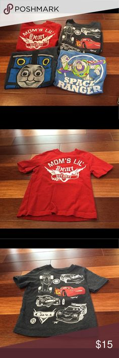Boy's Character Shirt Bundle Includes four Old Navy character shirts in great used condition. Old Navy Shirts & Tops Tees - Short Sleeve